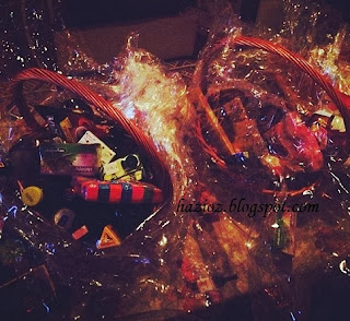 yeni yıl hediye paketi, içki paketi