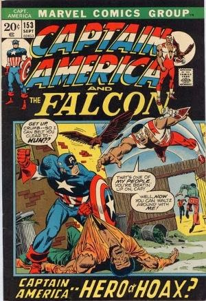 Captain America #153 comic