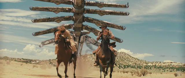 The Boxed Office: Cowboys & Aliens Reaches For The Sky! Cowboys And Aliens Alien Ship