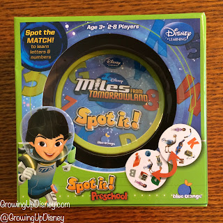 Miles from Tomorrowland, Blue Orange Games, Spot It, Disney game