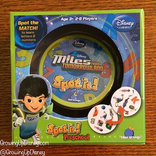 Miles from Tomorrowland, Blue Orange Games, Spot It, Disney game