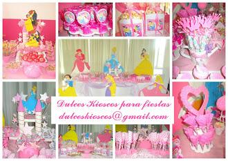Elegi tu tematica: Princesas!!!