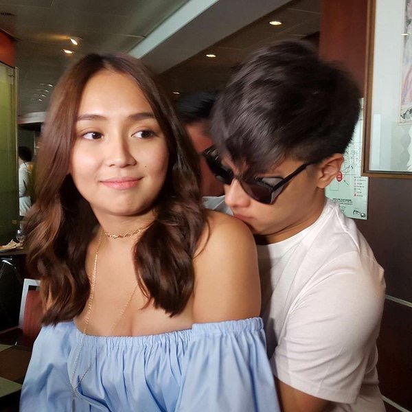 "kathryn and daniel officially dating Kathniel (kathryn bernardo & daniel padilla) (2012)"", and ""she's dating the ganagster (2014) officially, introduced erich as."