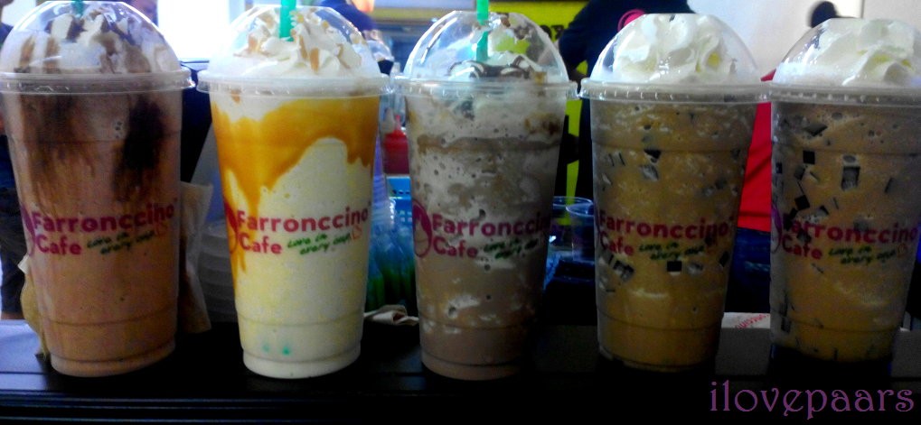 Radian M went to Farronccino Cafe - Love in every cup!