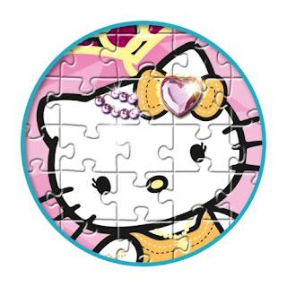 jeu de puzzle hello kitty pas cher