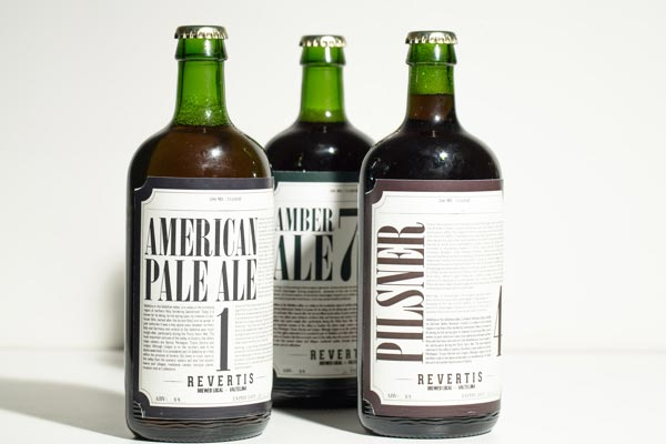 Bottle Label and Bottle Design