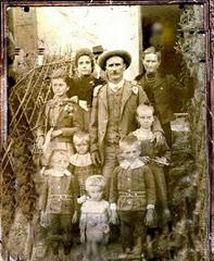 LA FAMIGLIA MARIUCCI NEL 1903