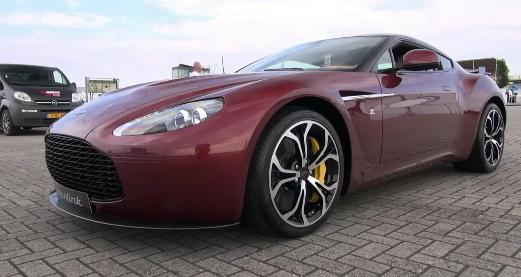 Ultra Rare $ 800,000 Aston Martin V12 Zagato