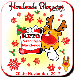 Handmade blogueros: reto personajes navideños.