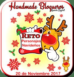 Handmade blogueros: reto personajes navideños.