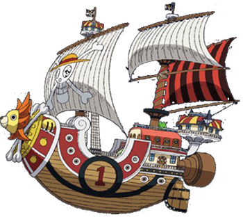 Mengenal Lebih Dekat Kapal Bajak Laut Thousand Sunny Go One Piece Indonesia