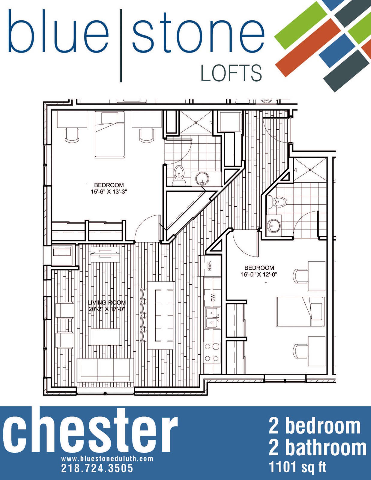 bluestone lofts floor plans