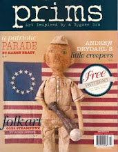 My Patriotic Paper Clay pieces in the Spring 2012 issue of PRIMS magazine