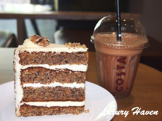 costa coffee singapore carrot cake mocha