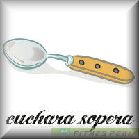 Fitnespedia for Cuchara sopera