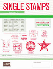 Single HOLIDAY STAMPS