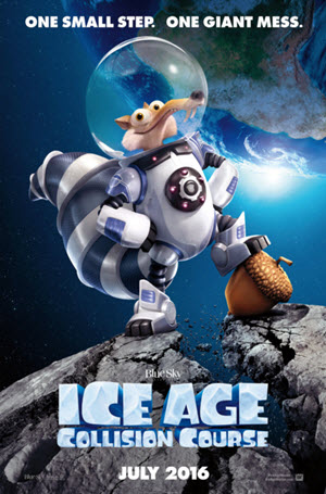 Ice Age: Collision Course: Official Release Poster