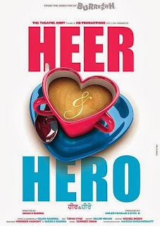 Punjabi Film Heer and Hero Poster