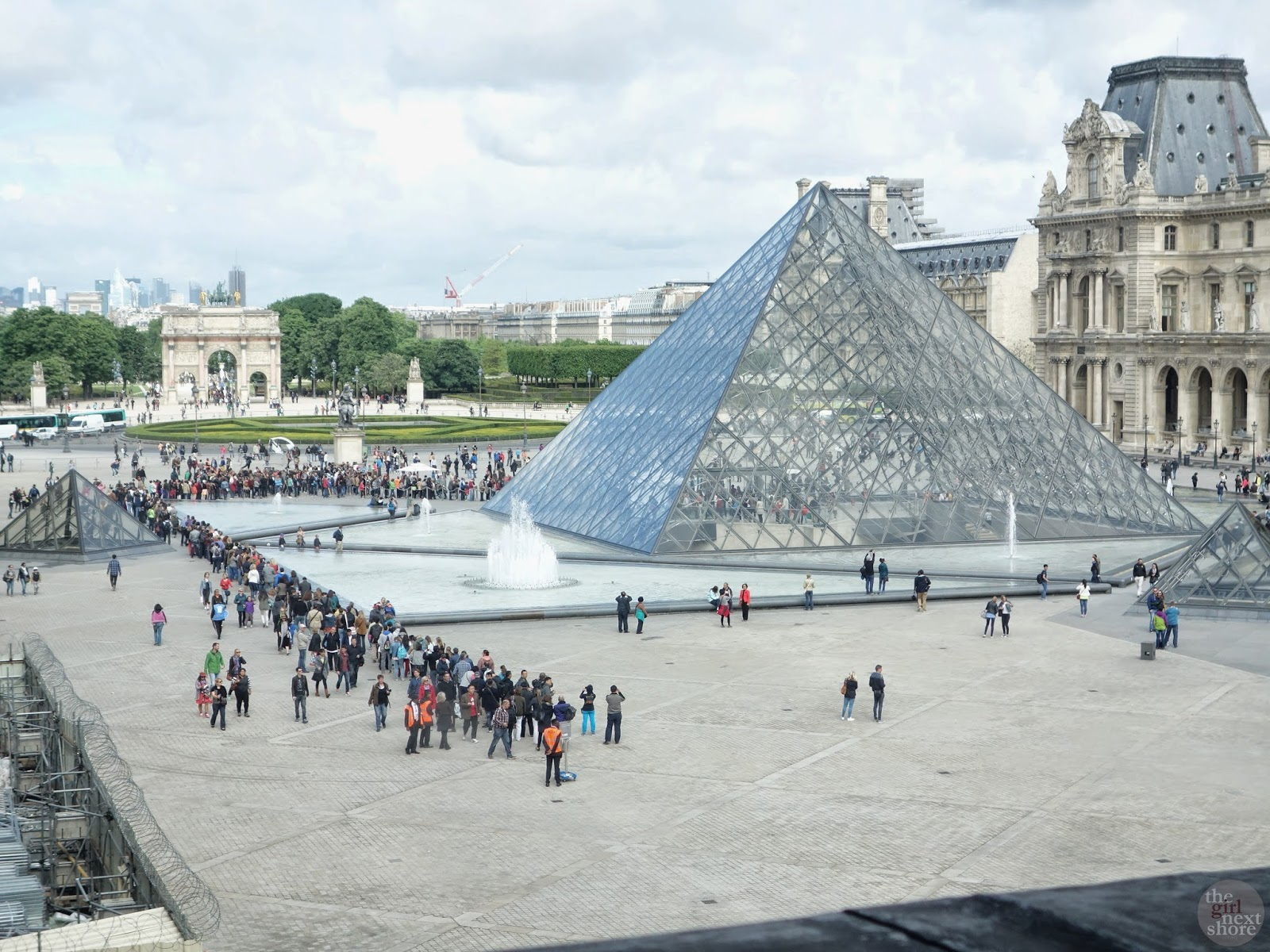 The Louvre by The Girl Next Shore