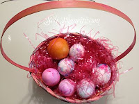 hard boiled easter egg basket