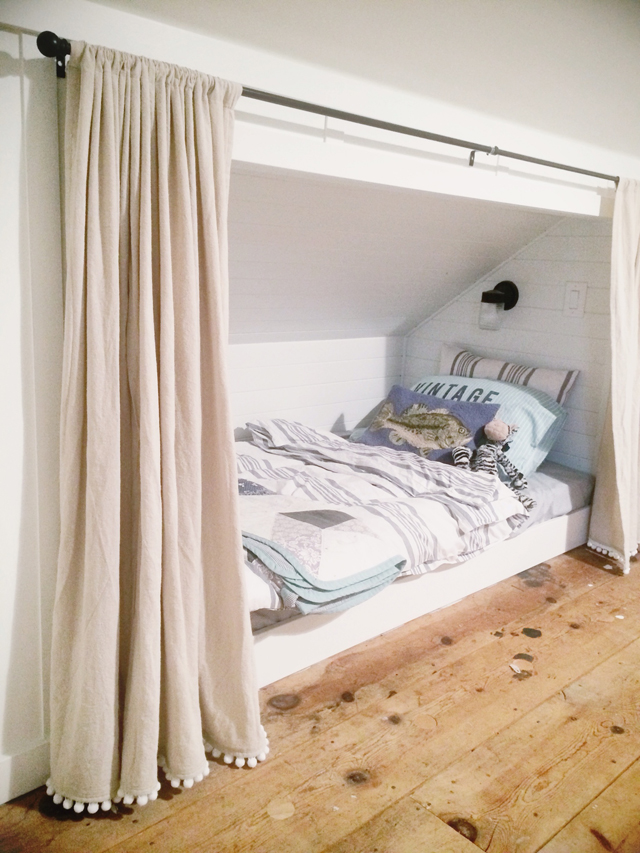 Spray Painting Wood Bunk Beds