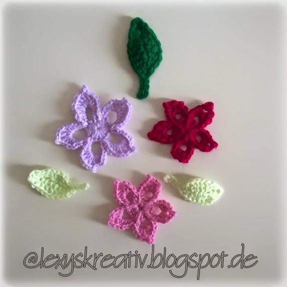 lexyskreativblog: Blumen Tutorial - Anleitung