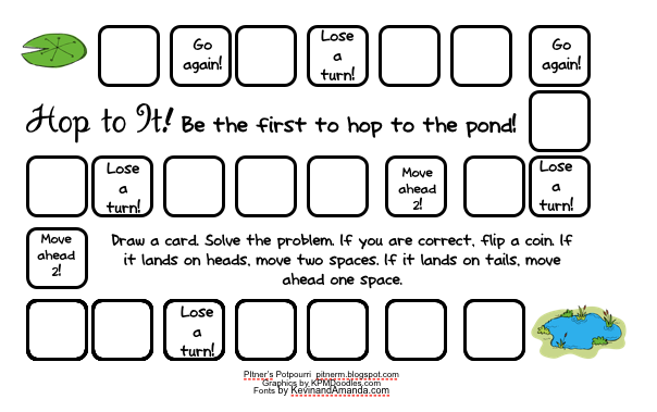 Hop up to practicing skip counting with this fun game for a math ...