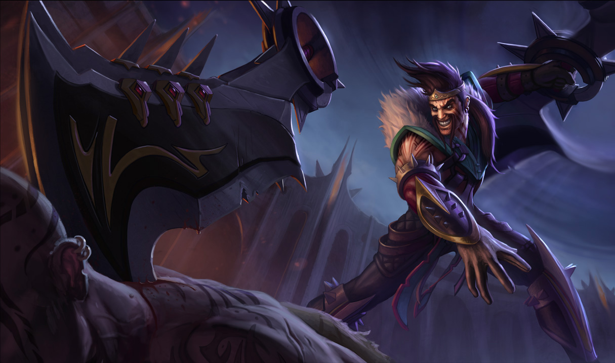 Classic Draven WallpaperFunny League Of Legends Pictures Draven