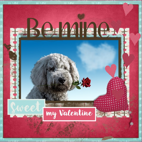 Feb. 2018 - Be mine ...my Valentine...