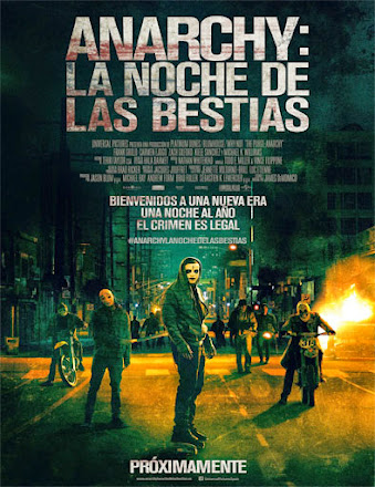 The Purge 2: Anarchy (12 horas para sobrevivir) (2014) CASTELLANO