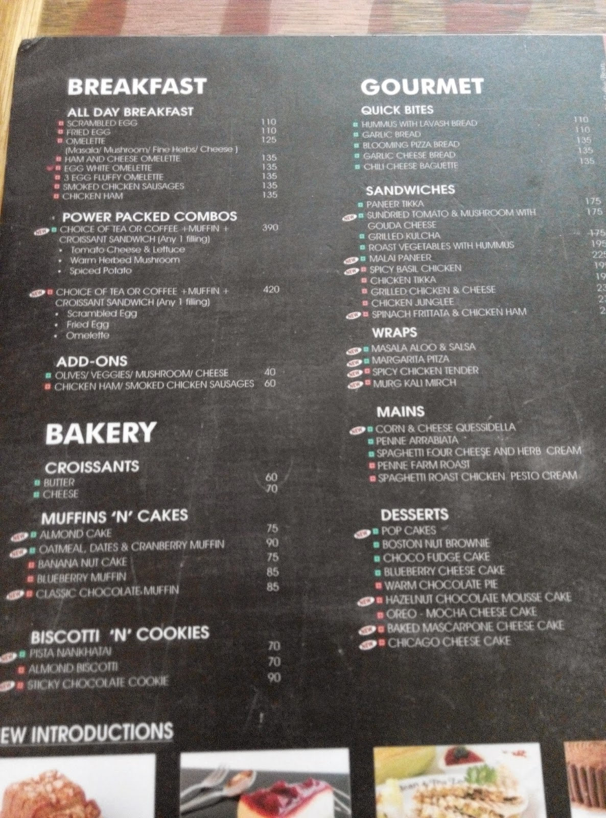Everything Under The Sun All New And Good On The Menu Of Cbtl