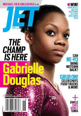Gabby Douglas on Jet Magazine