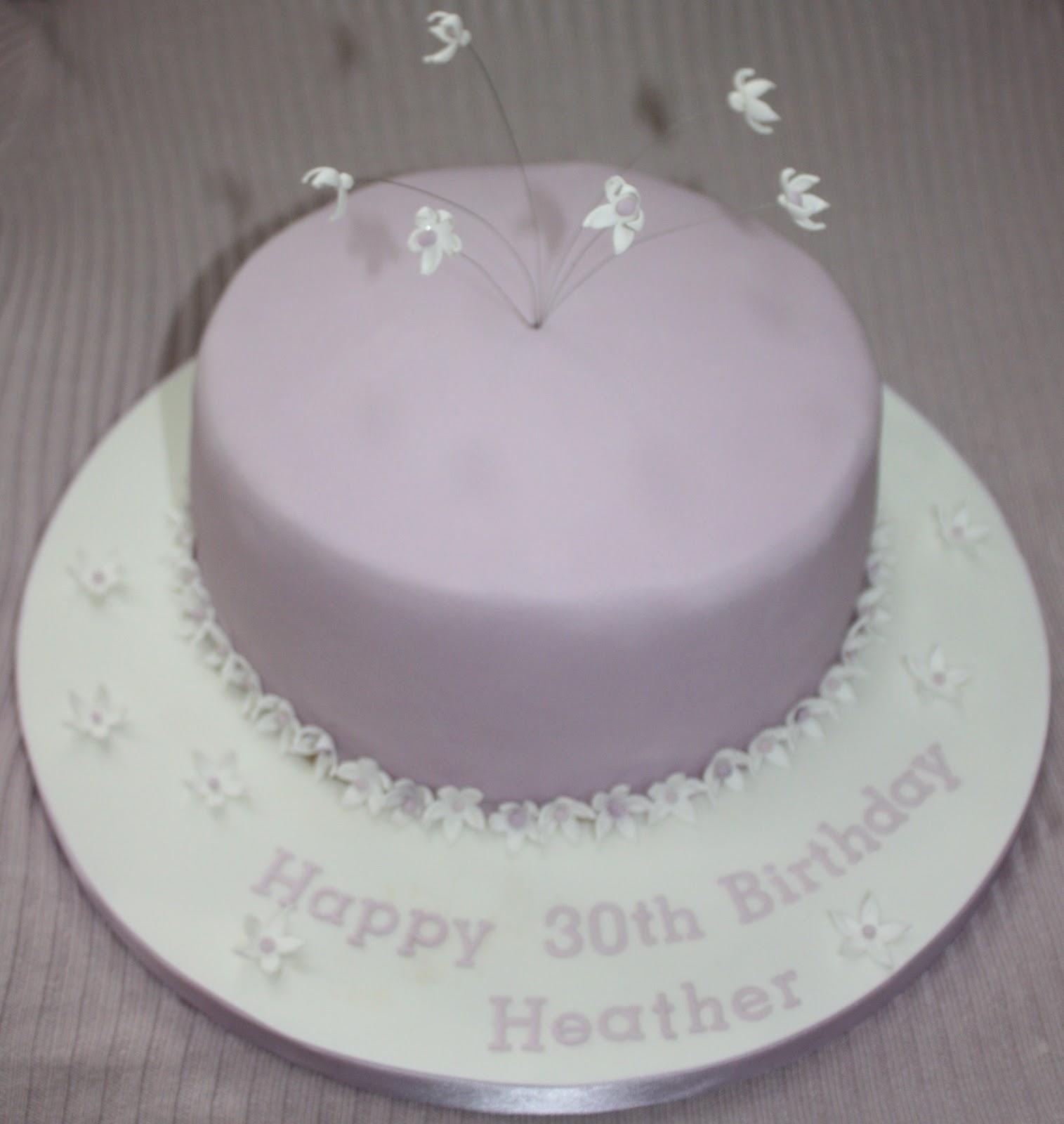 Angies Cakes 30th Birthday Cake Gluten Free Dairy Free Nut