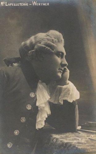 FRENCH TENOR RENÉ LAPELLETRIE (1884-1956) CD