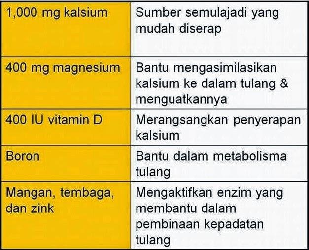 kalsium vitamin d