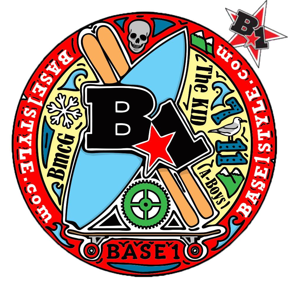 B1 Sports Sticker