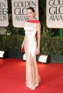 Angelina Jolie-Satin Gown