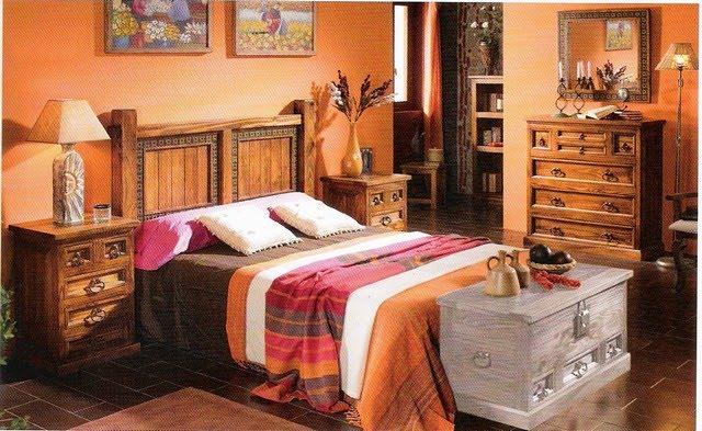 Dormitorios rusticos decoraci n de interiores for Decoracion de habitaciones de matrimonio rusticas