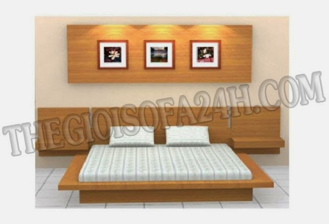Giường ngủ GN050