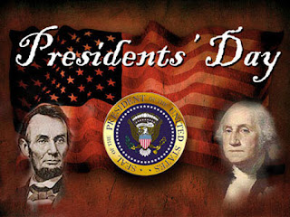 Presidents' Day poster