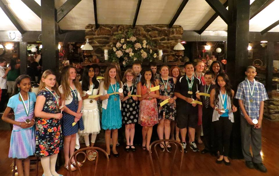 Perfect photos of junior honor society taken last month