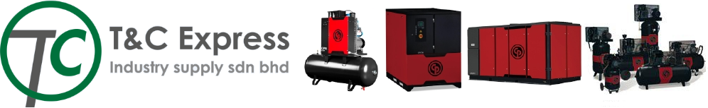 Malaysia air compressor system. Air dryer, air filter, water separator, and spare parts.