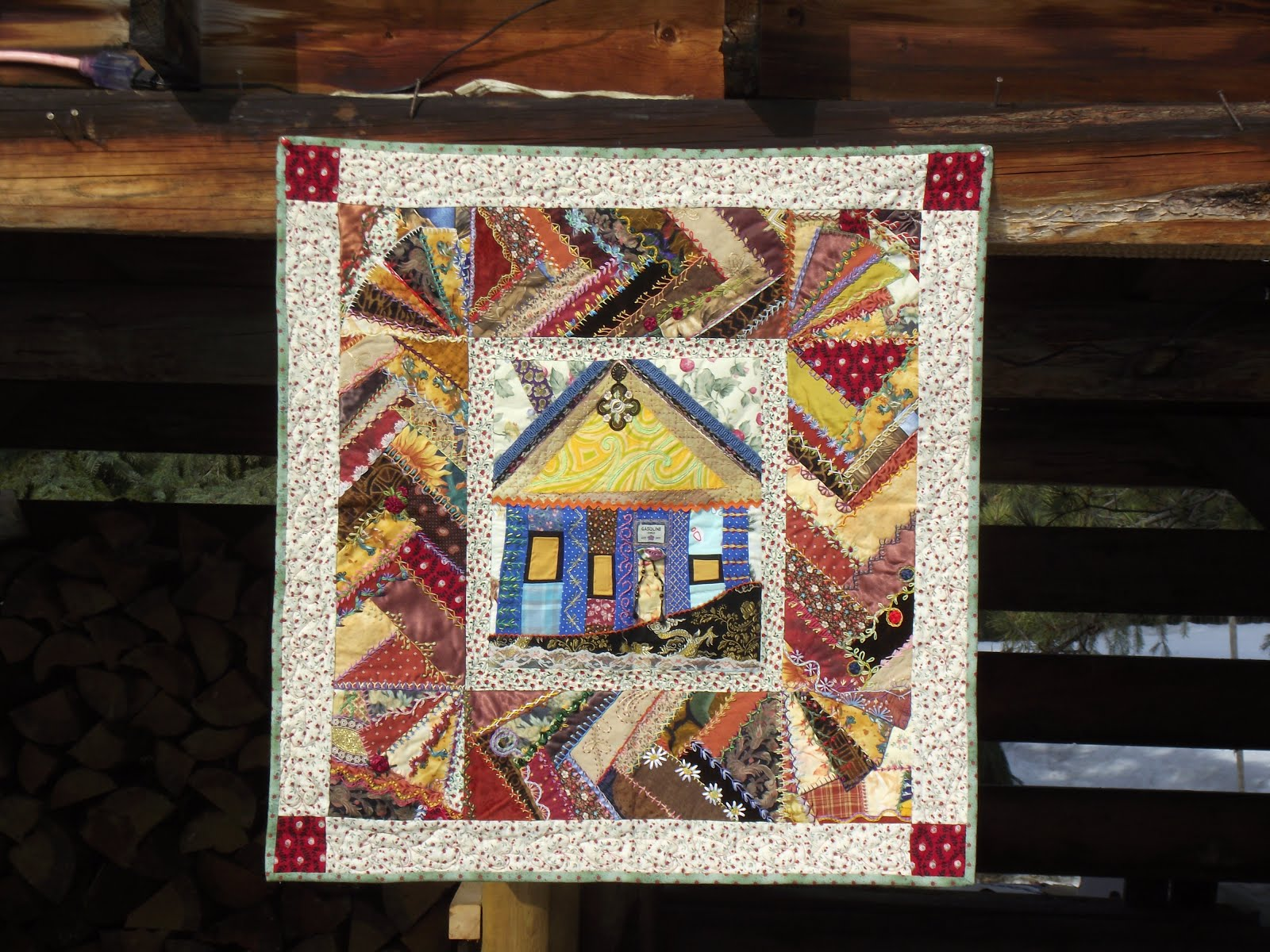 Beach House Crazy Quilt