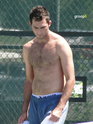 Horia Tecau Shirtless at Cincinnati Open 2010