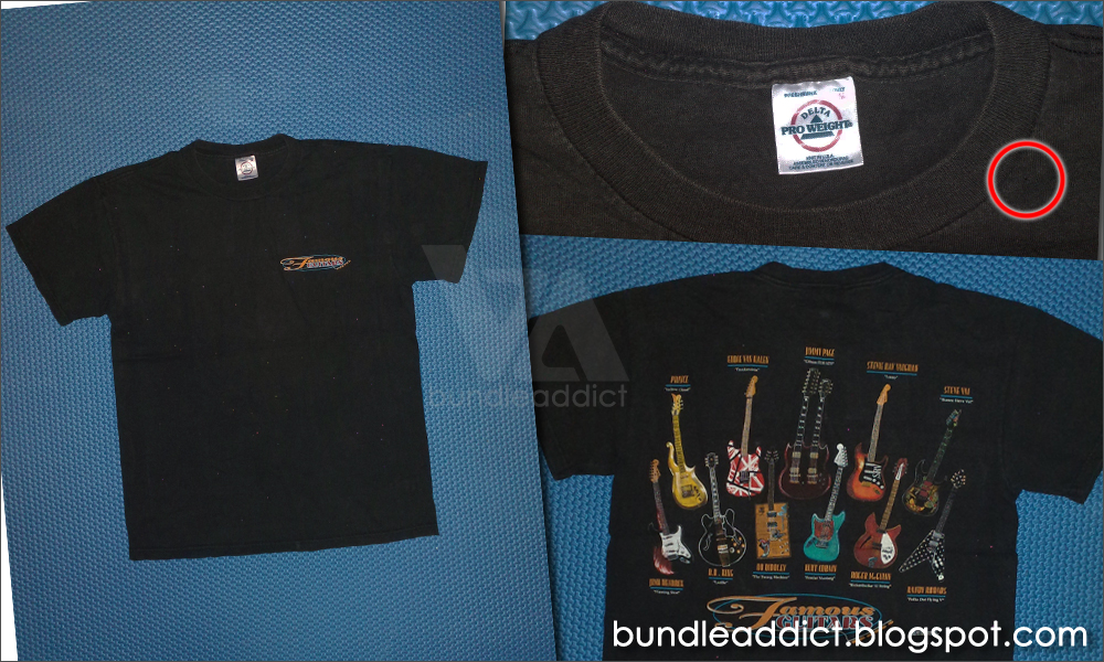 (BA-2593) Famous Guitars T-Shirt | 1000 x 600 jpeg 701kB