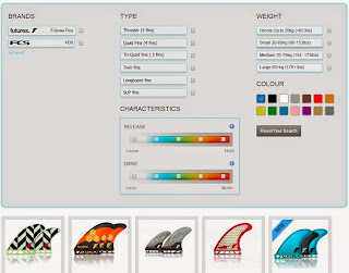 Fin selector find your perfect fins LunaSurf
