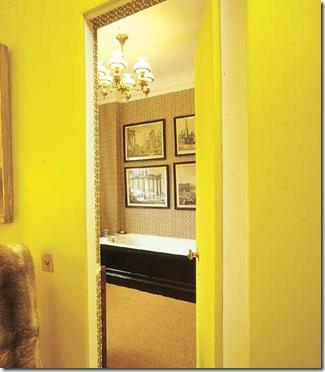 Una de mis alumnas que estudió el curso de capacitación de \u0026quot;EL COLOR COMUNICA\u0026quot;, hizo pintar en su casa, una pared de color \u0026quot;amarillo\u0026quot; en el lugar de estudio