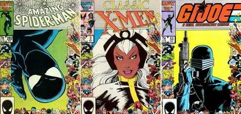 Copertine Marvel 25° anniversario novembre 1986