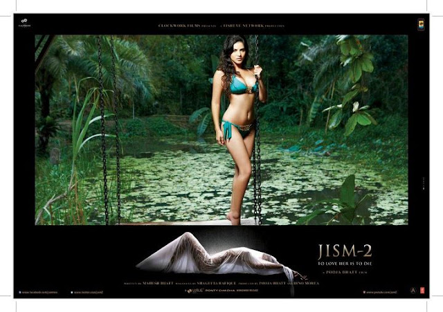 Sunny Leone Jism 2 Movie Hot Wallpapers