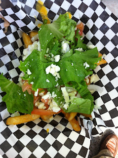 Foreign Policy Food Truck Veggie Fries